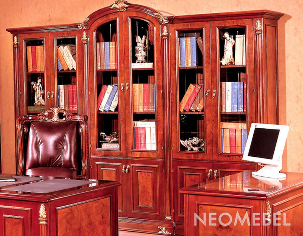 Книжный шкаф шестидверный, carpenter - 216 в интернет магази.